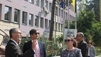 Gradonačelnik Tuzle upriličio prijem za ambasadora SAD u Bosni i Hercegovini