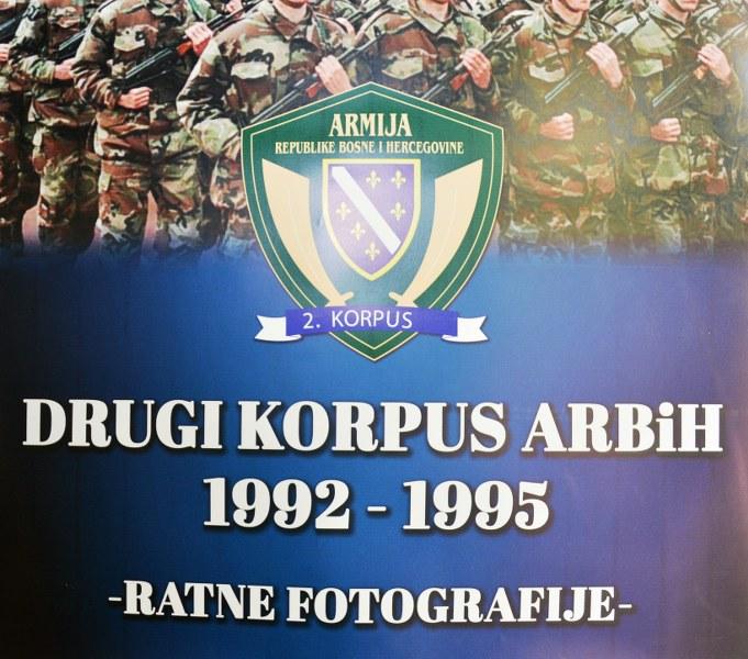 """Upriličena izložba """"Ratne fotografije 2.Korpusa Armije RBiH"""""""