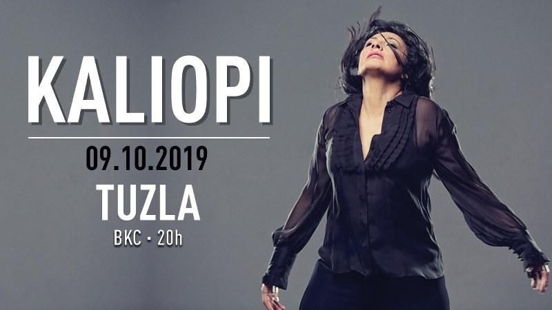 Jesenja turneja Kaliopi u Bosni i Hercegovini