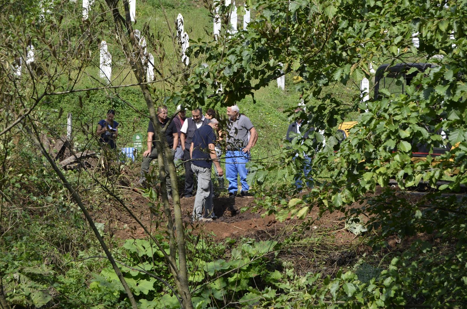 U naselju Kazani u Srebrenici otkrivena nova grobnica