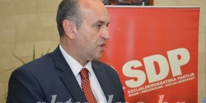 Slađan Ilić ponovo izabran za predsjednika SDP-a Tuzla