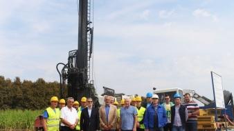 Gradonačelnik Tuzle obišao završne radove na gradnji četiri nova bunara u Sprečkom polju