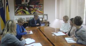 Gradonačelnik Imamović se susreo sa predstavnicom švicarske Direkcije za razvoj i saradnju