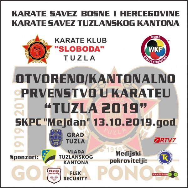 Otvoreno prvenstvo u karateu Tuzla 2019
