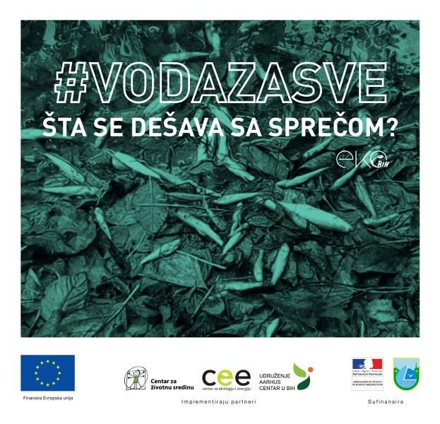 Centar za ekologiju i energiju Tuzla: Šta se dešava sa Sprečom!?
