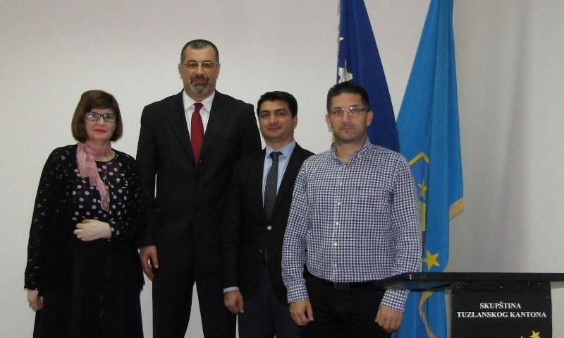 Razgovor o statusu investicija azerbejdžanskih kompanija u Bosni i Hercegovini