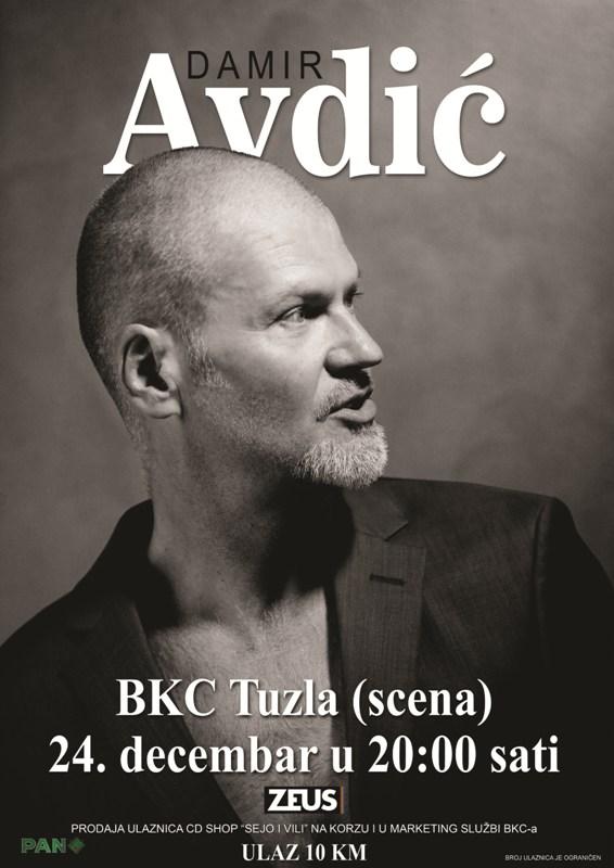 U decembru koncertna promocija albuma «Radikalno šik» Damira Avdića