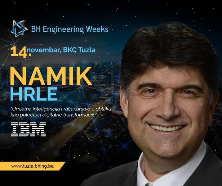 Namik Hrle–Bosanac sa jednom od najvećih pozicija u IBM-u dolazi u Tuzlu