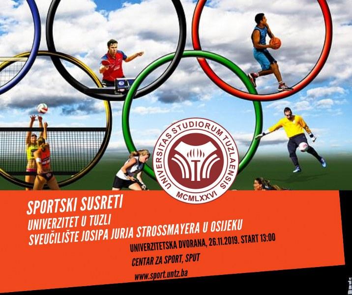 Univerzitet u Tuzli domaćin  sportskih susreta