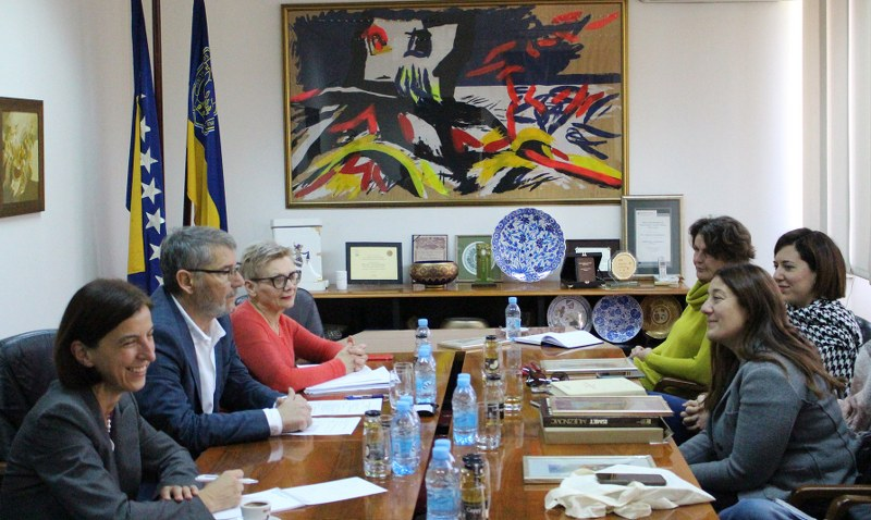 Gradonačelnik Tuzle upriličio prijem za delegaciju Općine Campi Bisenzio iz Firence