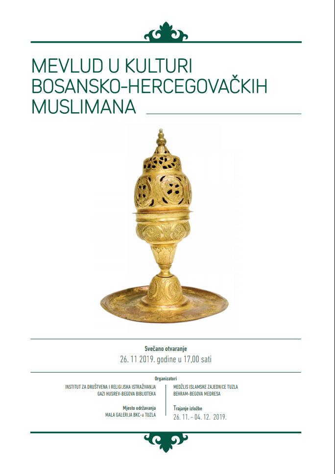 """Izložba """"Mevlud u kulturi bosansko-hercegovačkih muslimana"""""""