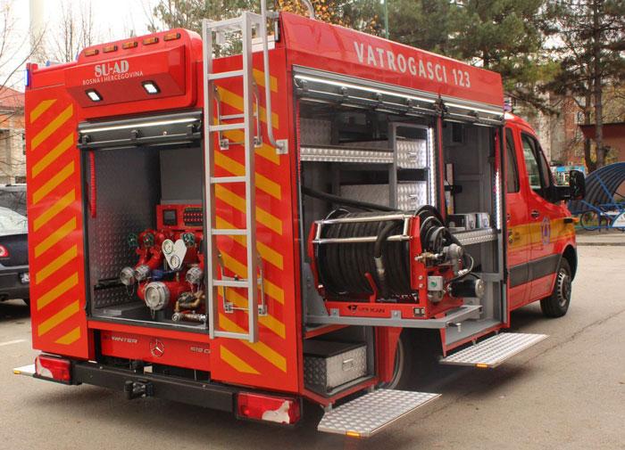 Bh. vatrogasci prvi put imaju vozilo domaće proizvodnje