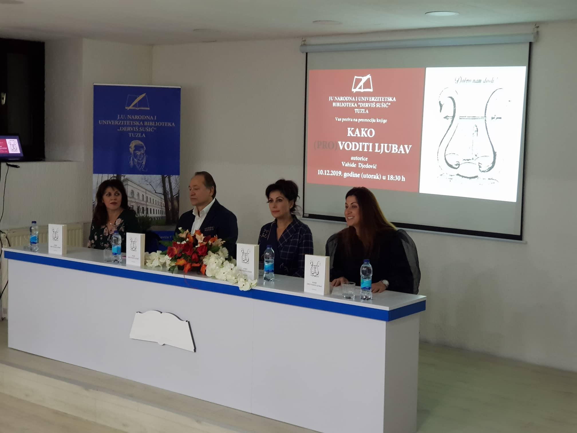 """Održana promocija knjige """"Kako (pro)voditi ljubav"""" Vahide Djedović"""