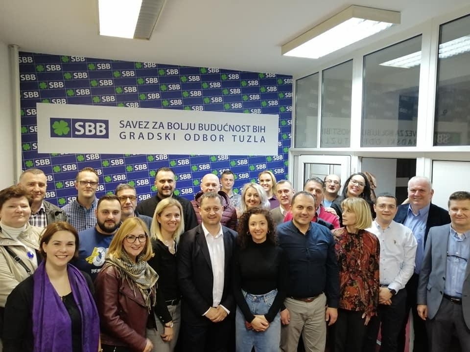 Nedžad Hamzić ponovo dobio povjerenje članova SBB Tuzla!
