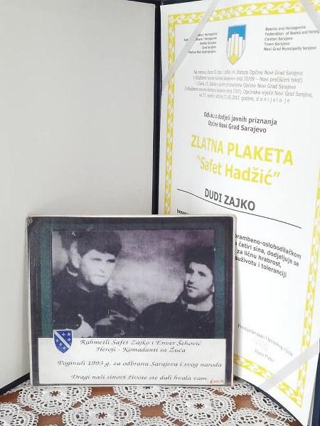 Ministar Bukvarević posjetio majku heroja Safeta Zajke
