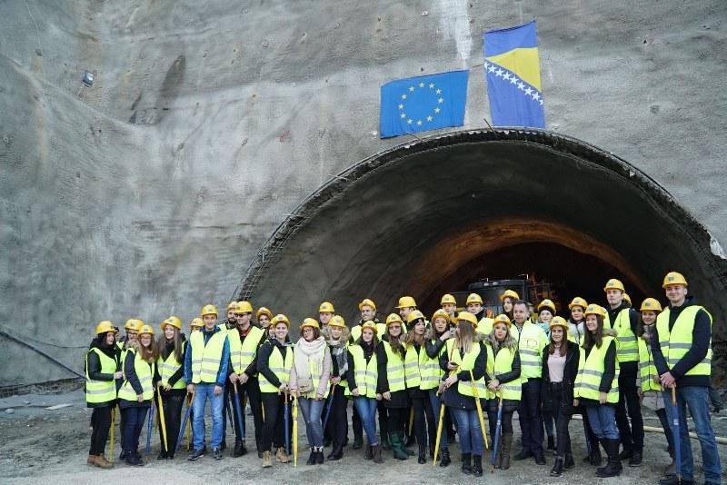 Svečano obilježen početak radova na probijanju tunela Zenica