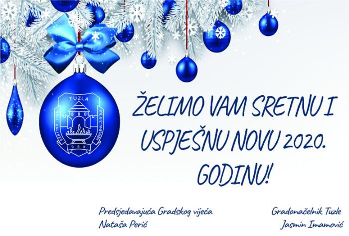 Grad Tuzla: Novogodišnja čestitka