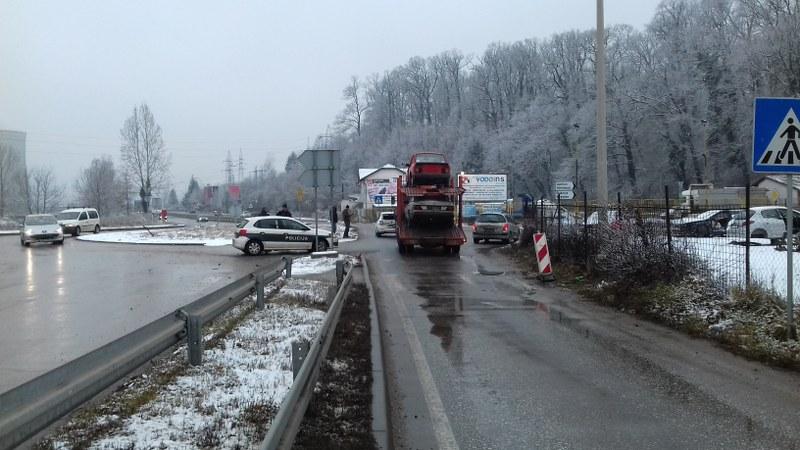 Saobraćajna nesreća u Bukinju, saobraćaj obustavljen ima povrijeđenih