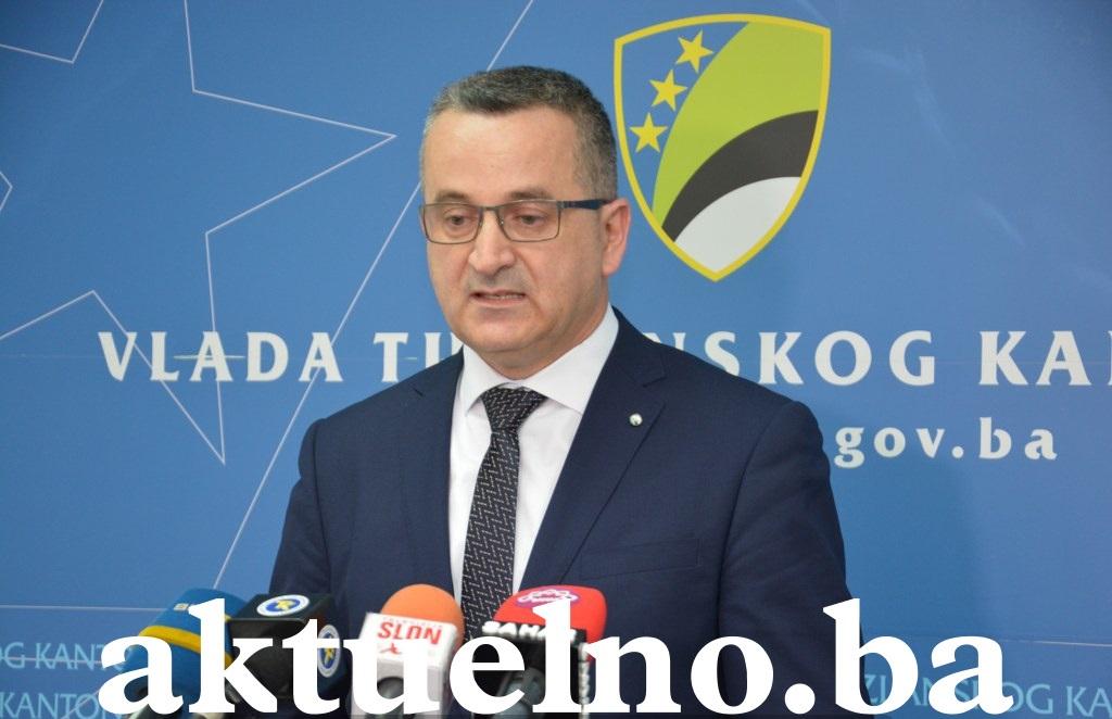 Bezuspješan pokušaj opozicije u Skupštini TK za smjenu ministra MUP-a Sulejmana Brkića