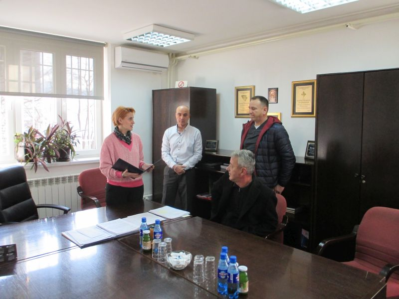 Udruga hrvatskih vojnih invalida uručila povelju resornom Ministarstvu