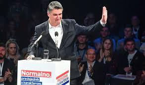 Zoran Milanović je novi predsjednik Hrvatske!
