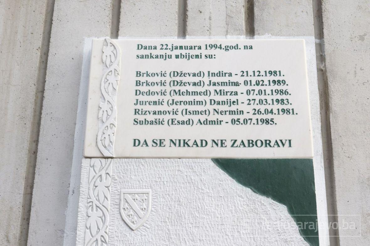 Dan kada je granata prekinula snove sarajevske djece koja su se sankala