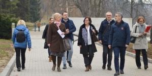 Gradonačelnik Jasmin Imamović sa saradnicima obišao radove rekonsturkcije kompleksa Slane Banje