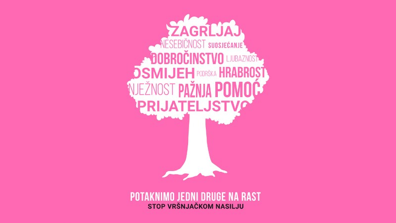 Dan ružičastih majica: Mladi u 20 bh. gradova šalju poruku protiv vršnjačkog nasilja