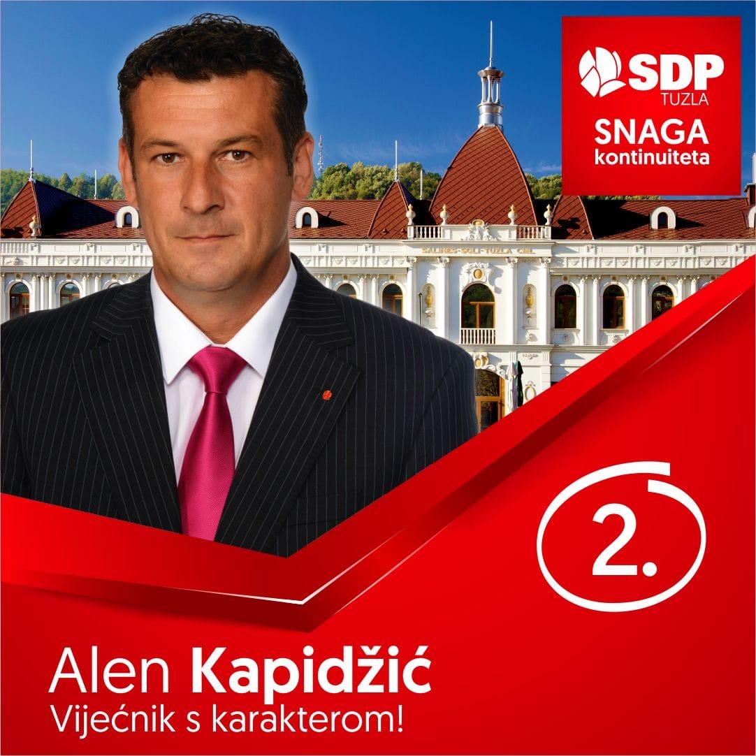 Alen Kapidžić SDP