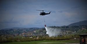 Odobreno angažovanje vojnog helikoptera za gašenje požara u Tuzli