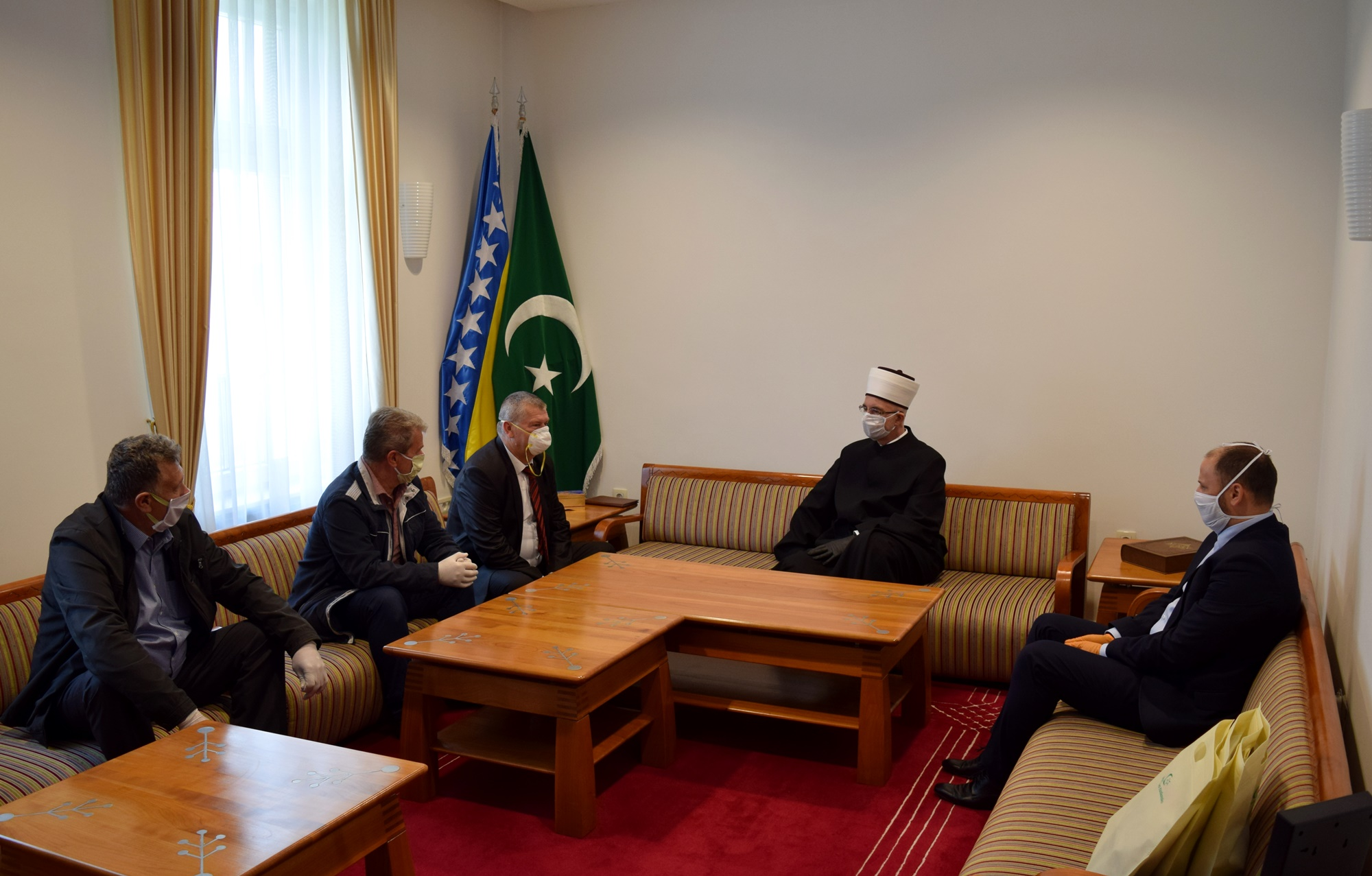 Muftija tuzlanski upriličio prijem za predstavnike Saveza ratnih vojnih invalida TK