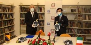 Italija donirala 200 respiratornih maski za subintenzivnu terapiju
