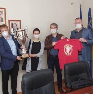 Prijem za FC Salines Tuzla City, prvaka u Premijer ligi BiH u malom nogometu