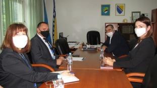 Delegacija Misije OSCE-a u BiH u posjeti Skupštini Tuzlanskog kantona