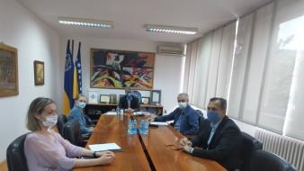 """Održan sastanak sa predstavnicima KBS """"TUZLA"""""""