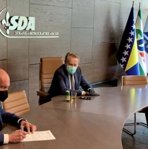 Gradonačelnik Živinica Samir Kamenjaković pristupio SDA