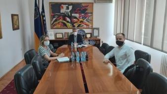 Gradonačelnik Jasmin Imamović se susreo sa predsjednikom Pozorišta mladih Tuzle