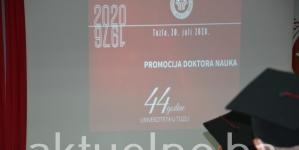 Promovirano 15 doktora nauka Univerziteta u Tuzli FOTO