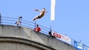 Vedad Bašić pobjednik skokova sa Starog mosta