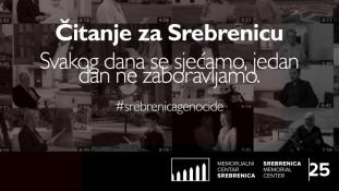 Večeras video projekcije 'Čitanja za Srebrenicu' širom BiH