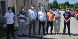 Medicinski tim UKC Tuzla boravio u Novom Pazaru kako bi pružio pomoć u borbi protiv COVID-19