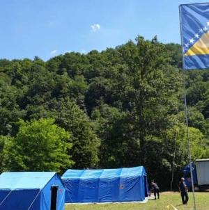FUCZ uspostavila kamp za učesnike 'Marša mira 2020'