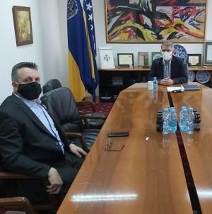 Sastanak gradonačelnika Tuzle i ministra trgovine, turizma i saobraćaja TK