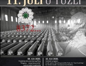"""Medžlis Islamske zajednice Tuzla: Večeras centralni program manifestacije """"11. juli u Tuzli"""