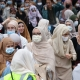 Hiljade demonstranata u Briselu se protivi zabrani nošenja hidžaba