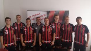 RK Sloboda potpisao ugovore sa sedam igrača iz svog omladinskog pogona