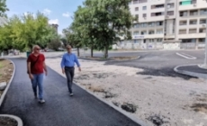 Radovi na sanaciji putne infrastrukture u ulici 1. inžinjerijske brigade u Tuzli