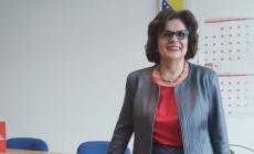 Mirjana Marinković Lepić kandidatkinja Naše stranke za gradonačelnicu Tuzle