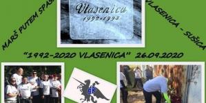 'Marš putem spasa'-Obilježavanje godišnjice zloglasnog vlaseničkog logora Sušica