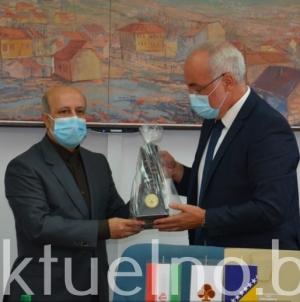 Održan sastanak  privrednika TK i prvog savjetnika ambasade Irana